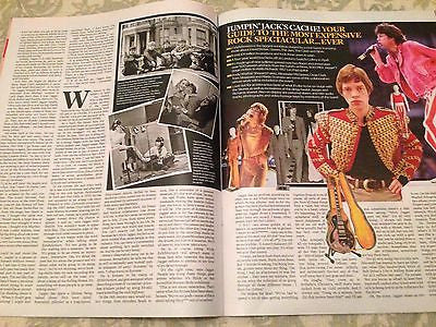 THE ROLLING STONES Photo Interview EVENT Magazine 12/2015 DURAN DURAN DIANA RIGG