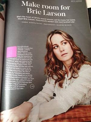 Room BRIE LARSON UK PHOTO INTERVIEW STYLIST MAGAZINE JANUARY 2016