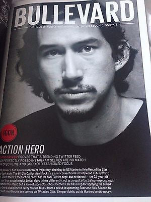 TOM HARDY interview THE REVENANT  UK 1DAY ISSUE 2016 ADAM DRIVER teresa palmer
