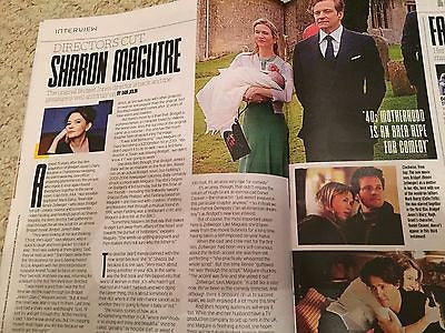 (UK) POPCORN MAGAZINE AUG 2016 RICKY GERVAIS PHOTO INTERVIEW BRYCE DALLAS HOWARD