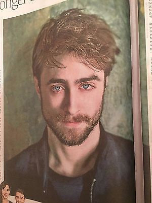Harry Potter DANIEL RADCLIFFE Photo Interview UK Times Weekend September 2016