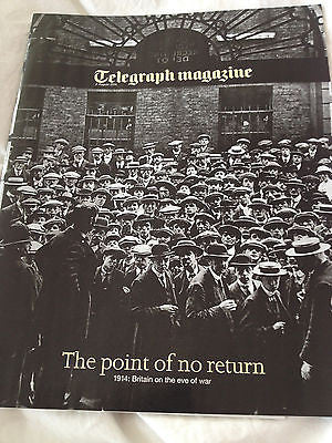 Telegraph Magazine August 2014 World War 1 100 year Anniversary Edition 72 pages