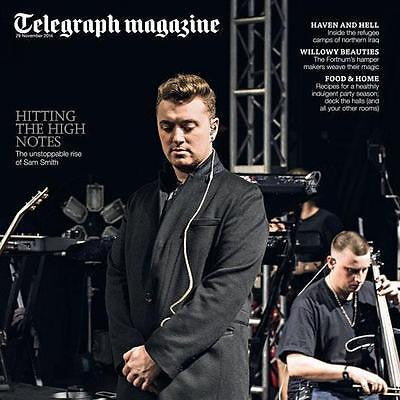 in the lonely hour SAM SMITH PHOTO INTERVIEW Telegraph Magazine November 2014