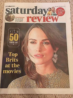 UK Times Review February 2017 Keira Knightley Andrew Garfield Mark Rylance