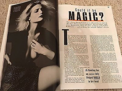 STYLE MAGAZINE 11/2016 Fantastic Beasts ALISON SUDOL PHOTO INTERVIEW ROGER MOORE