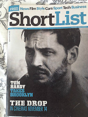 TOM HARDY Mick Jagger James Brown JACK DONNELLY TOPLESS UK SHORTLIST NOV 2014