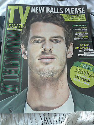 TV Magazine 21 June 2014 ANDY MURRAY ADAM THOMAS ELLIE GOULDING ROBERT DOWNEY JR