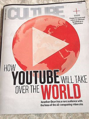 YouTube SUSAN WOJCICKI Culture Magazine April 2016 SAM HEUGHAN Michael Shannon