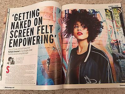 Game Of Thrones Nathalie Emmanuel Cover Interview Magazine 2017 Sharleen Spiteri
