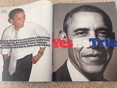 (UK) GUARDIAN MAGAZINE MARCH 2016 BARACK OBAMA NAOMI CAMPBELL JUNO TEMPLE