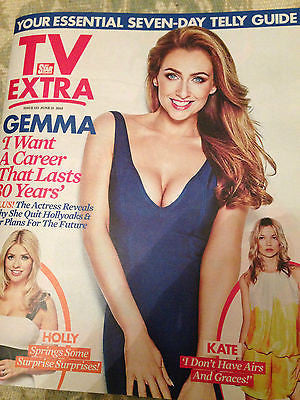 TV EXTRA MAGAZINE JUNE 2015 GEMMA MERNA ISABEL HODGINS KATE MOSS