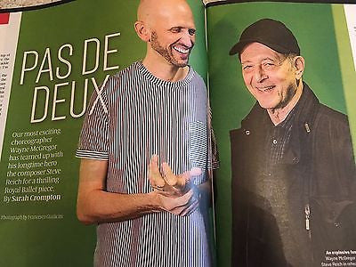 STEVE REICH - SHIRLEY COLLINS - WAYNE McGREGOR Culture UK magazine November 2016