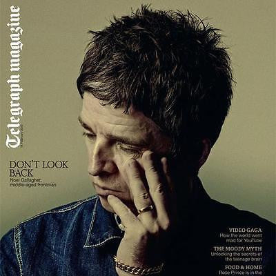 TELEGRAPH Magazine February 2015 NOEL GALLAGHER Oasis PHOTO COVER INTERVIEW