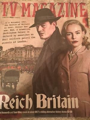 TV magazine 18th Feb 2017 SS-GB Sam Riley Kate Bosworth Linda Gray