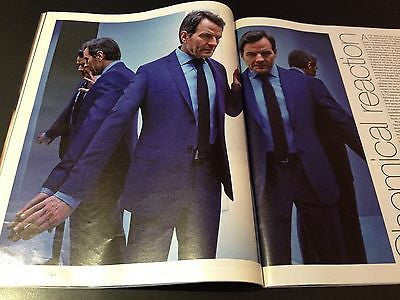 BRYAN CRANSTON interview BREAKING BAD UK 1DAY ISSUE 2014 GEORGE BEST ROY STRONG