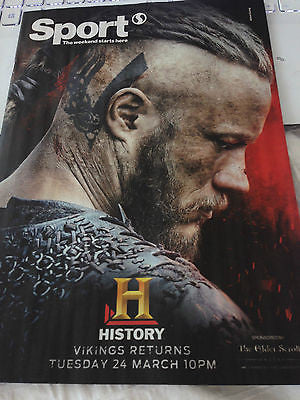 Vikings TRAVIS FIMMEL PHOTO COVER UK MAGAZINE JONNY WILKINSON VICTORIA PENDLETON