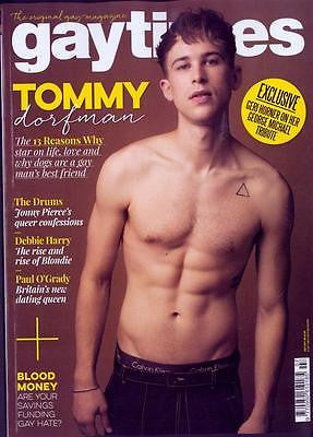 Gay Times Magazine July 2017 - Tommy Dorfman Jonny Pierce Debbie Harry Blondie