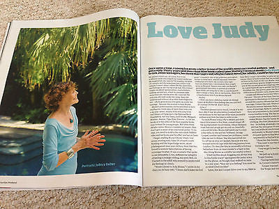 BABY PEGGY Mildred Kornman JUDY BLUME Anthony Sher WEEKEND Magazine May 2015