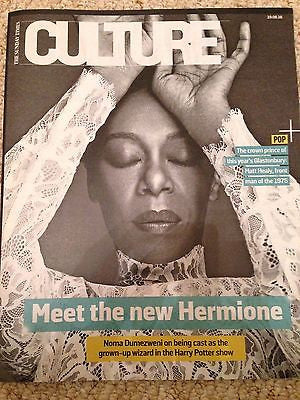 NOMA DUMEZWENI - HERMIONE - MATT HEALY - THE 1975 UK Culture magazine June 2016