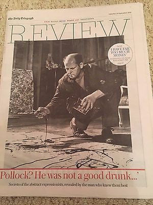(UK) Telegraph Review September 2016 Jackson Pollock Regina Spektor David Bowie