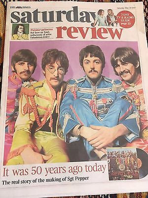 UK Times Review May 20 2017 - The Beatles Sgt Pepper 50 Years Sir Paul McCartney