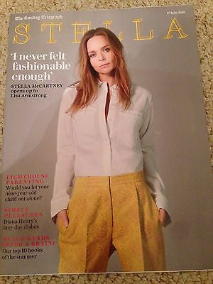 STELLA magazine - July 2016 STELLA McCARTNEY (Paul) Photo Cover Interview