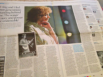 SHIRLEY COLLINS PHOTO INTERVIEW OBSERVER MAY 2015 MARY LAMBERT SYLVIE GUILLEM