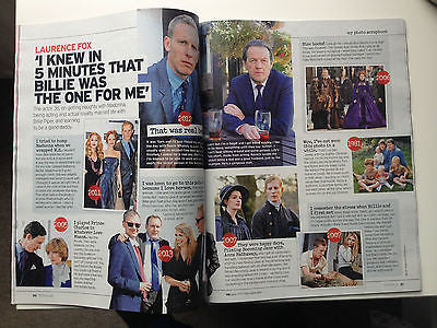 NOTEBOOK Magazine October 2014 KATIE PIPER LAURENCE FOX PHILIP GLENISTER