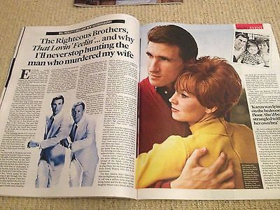 CARLA BRUNI UK Photo interview MAGAZINE MAY 2014 RIGHTEOUS BROTHERS BILL MEDLEY