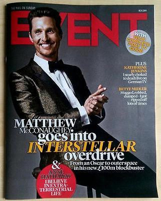 Interstellar MATTHEW McCONAUGHEY UK PHOTO INTERVIEW NOVEMBER 2014 ANNE HATHAWAY
