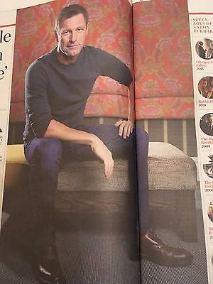 TELEGRAPH REVIEW 11/2016 AARON ECKHART PHOTO INTERVIEW JOYCE DIDONATO METALLICA