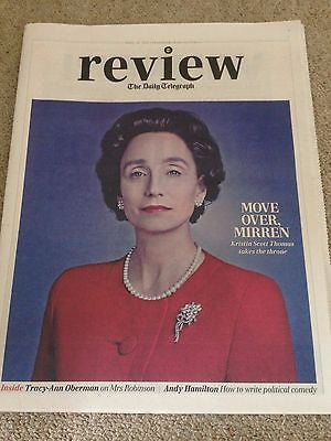 KRISTIN SCOTT THOMAS UK PHOTO INTERVIEW TELEGRAPH APRIL 18 2015 ALAN RICKMAN