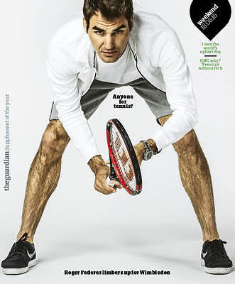 ROGER FEDERER - EXCLUSIVE INTERVIEW UK Guardian Weekend  magazine June 2016