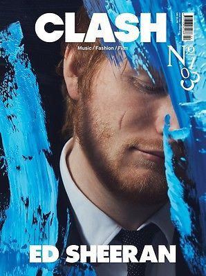 ED SHEERAN PHOTO COVER INTERVIEW UK CLASH MAGAZINE ISSUE 103 NEW