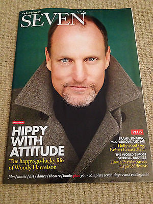 New SEVEN Magazine WOODY HARRELSON Graham Nash Robert Evans Michael Fassbender
