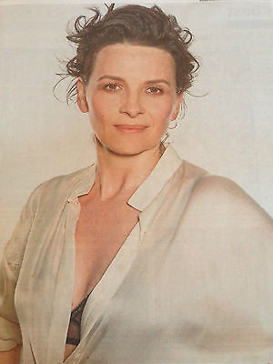 JULIETTE BINOCHE PHOTO INTERVIEW AUGUST 2015 TOBIAS JESSO JR JAMES NORTON