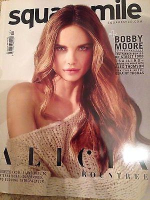 ALICIA ROUNTREE PHOTO COVER SQUARE MILE MAGAZINE FEBRUARY 2016 NEW
