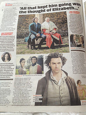 Poldark AIDAN TURNER PHOTO INTERVIEW MARCH 2015