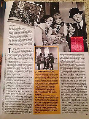 Paul McCartney THE BEATLES George Harrison UK Event Magazine September 2016
