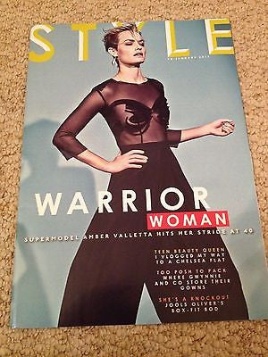 AMBER VALLETTA Photo Cover interview STYLE MAGAZINE JANUARY 2015 JOOLS OLIVER