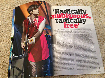 UK GUIDE MAGAZINE 2015 - TAME IMPALA - KEVIN PARKER - EZRA FURMAN TOBY STEPHENS
