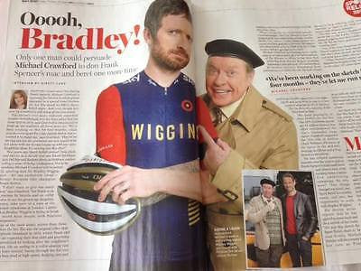 MICHAEL CRAWFORD PHOTO INTERVIEW UK RADIO TIMES MAGAZINE MARCH 2016