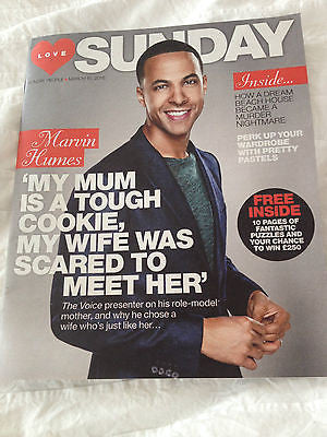 SUNDAY Magazine March 2015 MARVIN HUMES JLS PHOTO COVER INTERVIEW