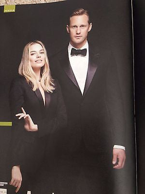 Alexander Skarsgard - Margot Robbie July 2016 Photo Cover Uk SHORTLIST Magazine