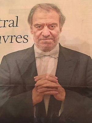 VALERY GERGIEV Photo Interview UK Life & Arts Supplement October 2016