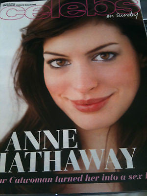 Celebs Magazine July 2012 ANNE HATHAWAY Amy Winehouse Yasmin Le Bon Tom Conti