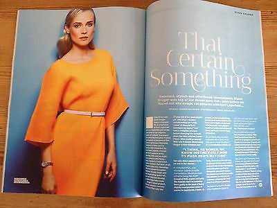 A Perfect Plan DIANE KRUGER Photo interview STYLIST JUNE 2014 TAYLOR SCHILLING
