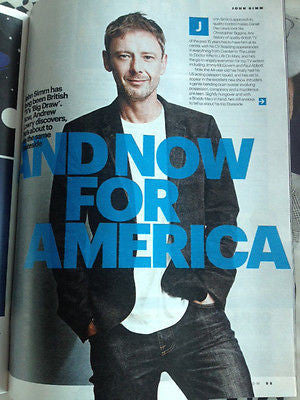 UK FASHION MAGAZINE OCTOBER 2014 JOHN SIMM INTRUDERS PHOTO INTERVIEW