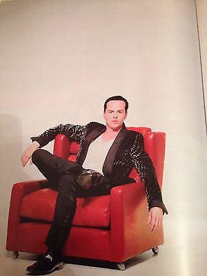 Sherlock ANDREW SCOTT PHOTO INTERVIEW OBSERVER MAGAZINE OCT 2015 KATE BUSH PHOTO