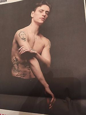 SERGEI POLUNIN interview ALISON GOLDFRAPP UK 1 DAY ISSUE Feb 2017 DANE DEHAAN